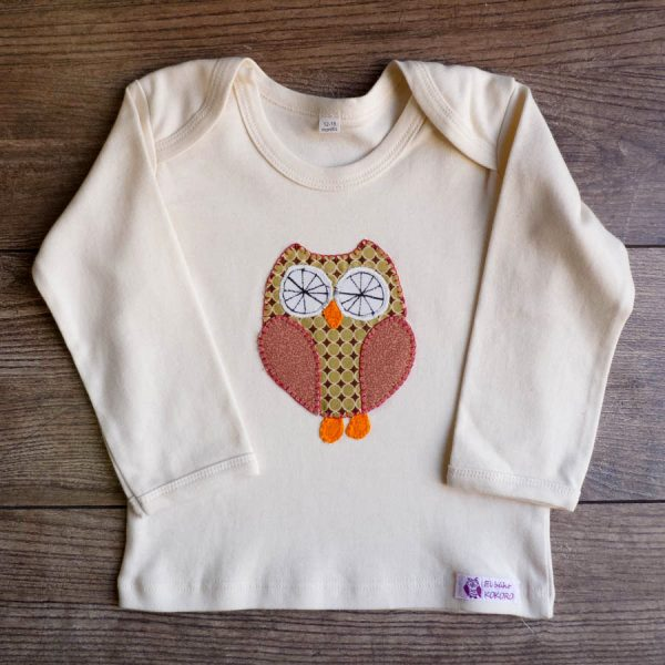 Camiseta algodon organico. Cosido a mano.