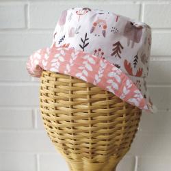 sombrero de tela reversible